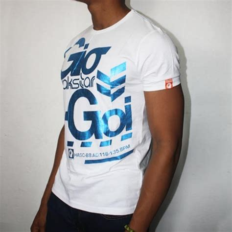 Pete Doherty Designs For Gio Goi by Gio Goi Easher Foil T Shirt Fashion Clothing Market
