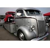 1947 Ford COE Silver Car Hauler  Classic &amp Custom