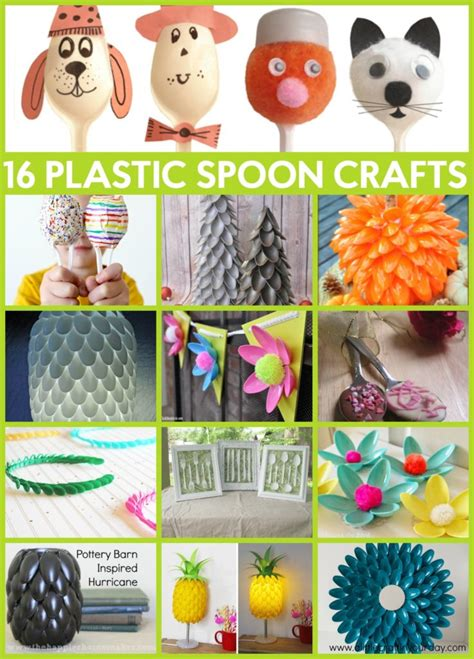 plastic spoon crafts 16 plastic spoon projects for the thrifty crafter a