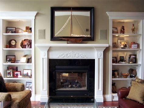 pin by terrie krupitzer on decorating the top of kitchen cabinets p fireplace with bookshelves on both sides bookshelves have