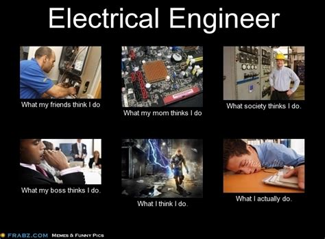 Mechanical Engineer Meme - electrical engineer funny pinterest