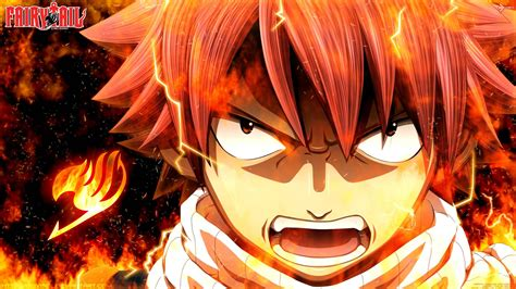 wallpaper anime fairy tail natsu dragneel wallpapers wallpaper cave
