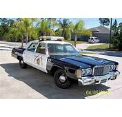 Buy Used 1976 CHRYSLER NEWPORT POLICE CAR PACKAGE In North