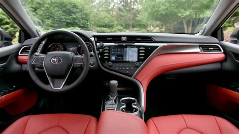 interior camry 2018 2018 toyota camry xse v6 colors specs review redesign
