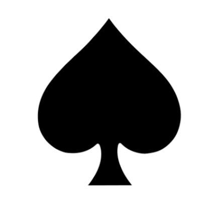 Card Spade Template by Ozziwar