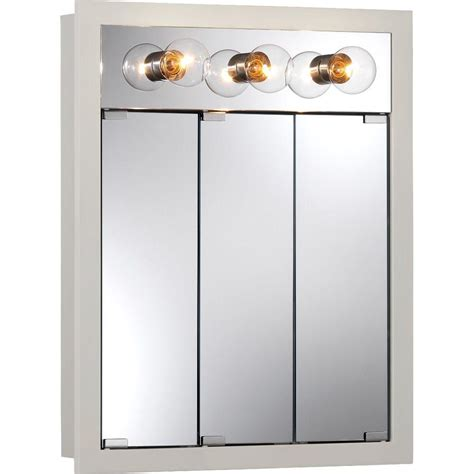 30 x 30 medicine cabinet glacier bay 48 in x 30 in frameless surface mount