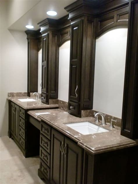 Master Bathroom Vanity Ideas Master Bathroom Remodel Master Bath Pinterest Can Lights Bathroom Remodeling And Vanities
