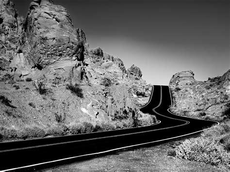 wallpaper jalan hitam gambar gambar jalan terindah