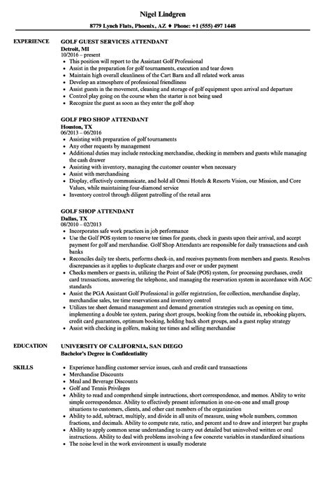 Golf Cart Attendant Sle Resume by Golf Cart Attendant Sle Resume Help Me Write My Essay Cargo Ship Security Officer