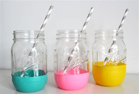Home Balloon Decoration by These Balloon Quot Dipped Quot Mason Jars Are One Of The Easiest Diys Ever