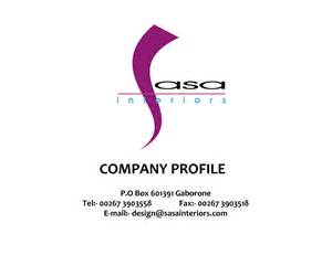 company profile template word company profile design template word