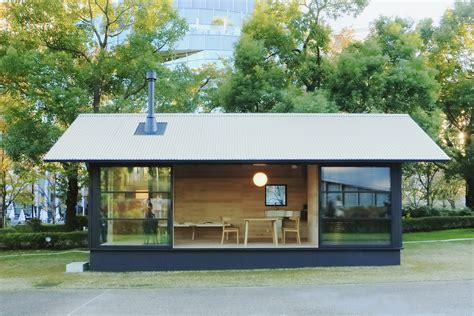 Studio Floor Plans 300 Sq Ft by Enter The Muji Hut Japan S Newest Prefab Homes