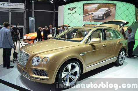 bentley bentayga 2015 bentley bentayga 2015 frankfurt live