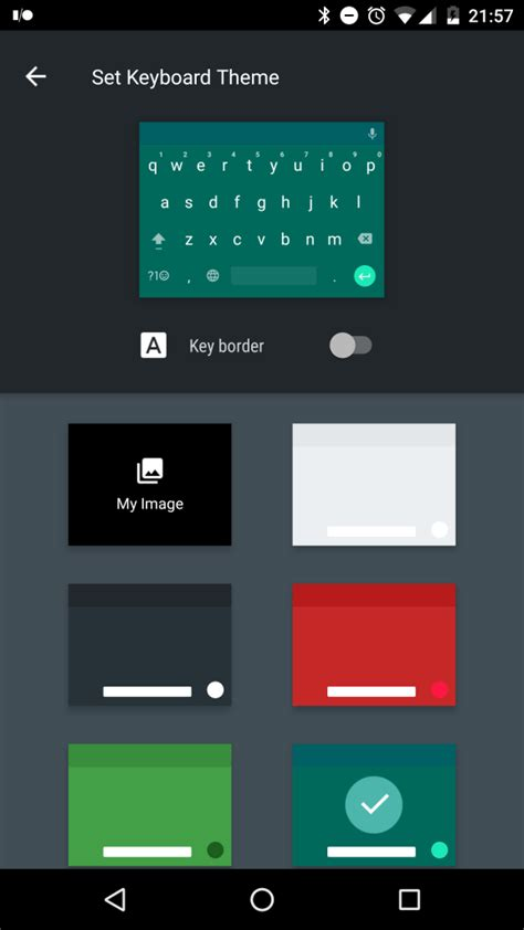 theme keyboard for android keyboard in the android n dev preview lets