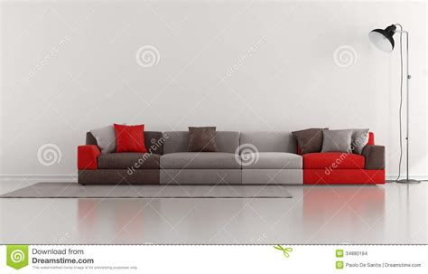 colorful sofa minimalist lounge with colorful modern stock images