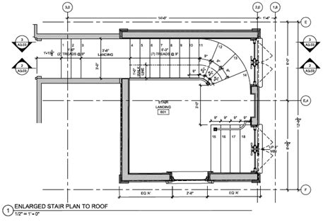 Stairs On Floor Plan beacon hill drawings