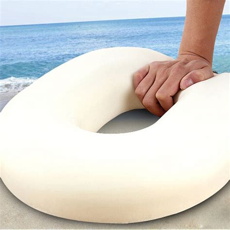 Pressurized Foam Cushion Guhdo Ukuran 100x200 memory foam ring cushion surgical donut hemorrhoids piles pregnancy pressure lazada indonesia