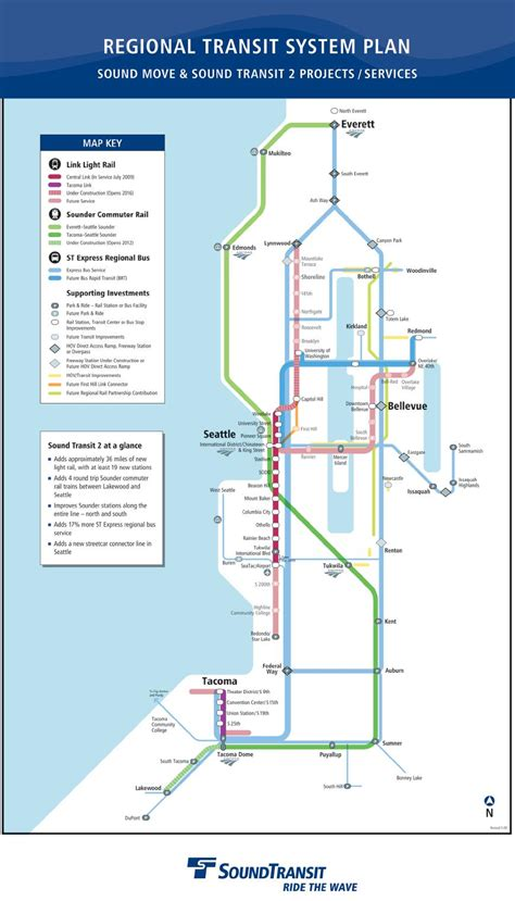 seattle link light rail map regional light rail undergoing expansion the northwest