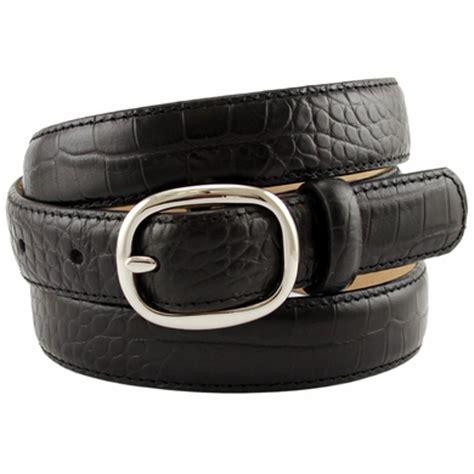 s italian leather designer dress belt 1 quot wide black