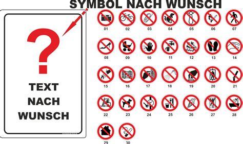Fahrrad Aufkleber Selber Gestalten by 30x45cm Schild Aufkleber Verbotszeichen Nach Wahl Text Und