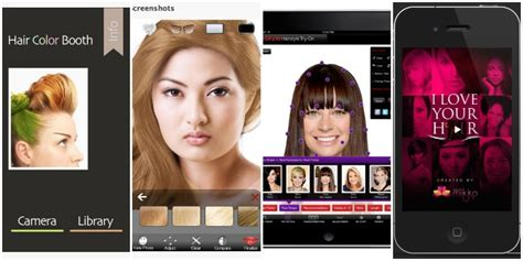 hair apps     visiting  stylist babble