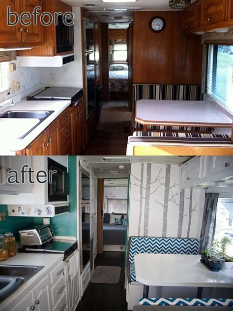 the rv remodel rv motorhome interior remodel really like the
