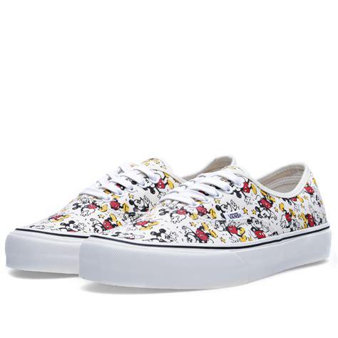 Vans Disney Mickey vans vault x disney og authentic lx mickey mouse
