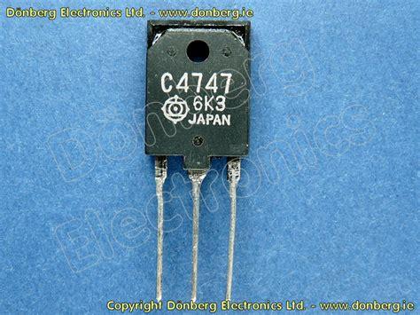 bipolar transistor halbleiter halbleiter 2sc4747 2sc 4747 leistungs bipolar transistor