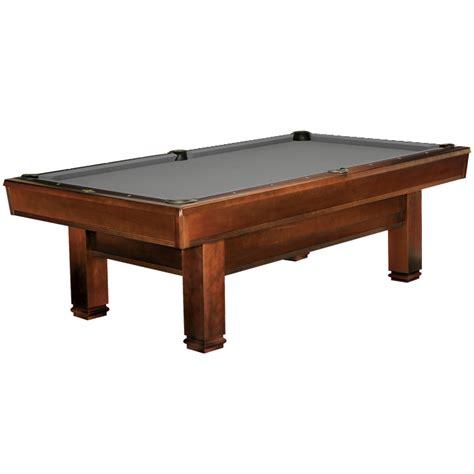 brunswick bridgeport 8 ft pool table