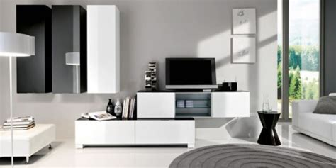 black and white tv room black and white minimalist living room tv cabinet by silvano barsacchi home design inspiration