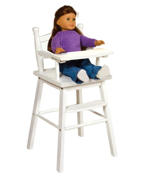 baby sitting chair kmart guidecraft doll high chair white toys dolls