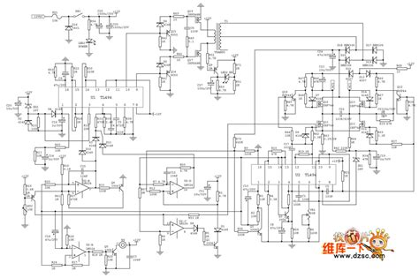car inverter circuit diagram inverter circuit page 6 power supply circuits next gr