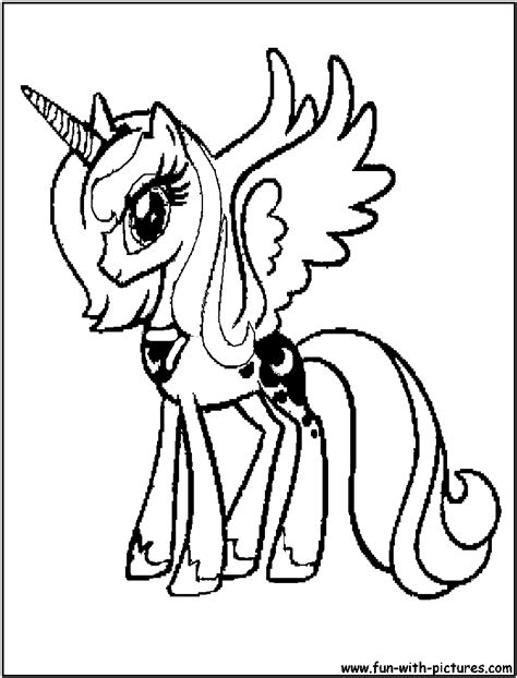 baby luna coloring page my little pony coloring pages baby luna