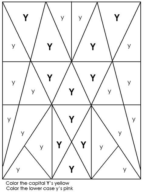 printable letter y worksheets for preschool hidden image worksheet alphabet recognition