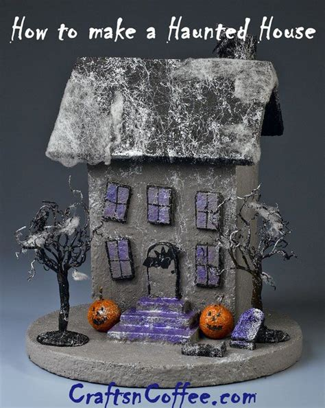 How To Make A Paper Haunted House - 136 best and haunted paper models images on
