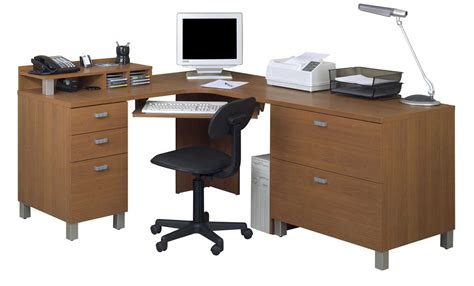 Wooden L Shaped Office Desk L Shaped Computer Table Design