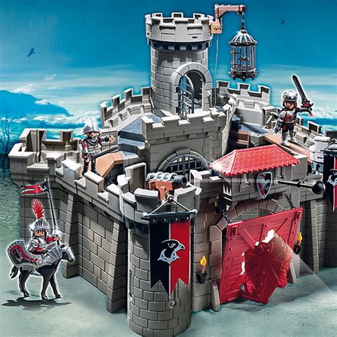 Playmobil Hawk Knights Castle Set playmobil knights hawk knights castle 6001 at