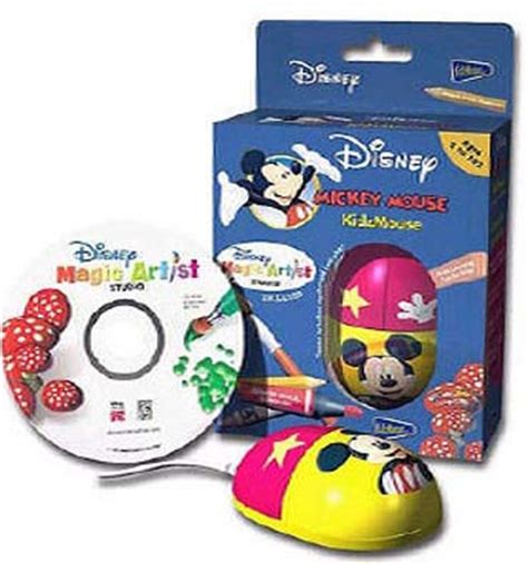 Optical Mouse Retract Disney Magical Termurah mickey mouse optical kidzmouse with magic artist studio