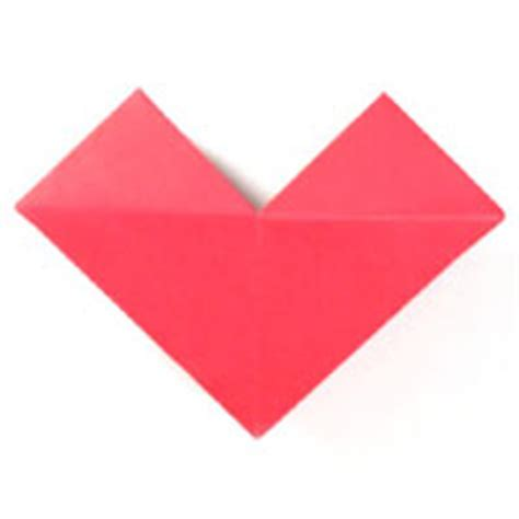 Small Origami Hearts - easy origami