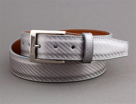 Ralliant Pin Belt Carbon silver embossed carbon fiber belt custom belts buckles fiber belt and silver