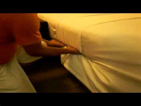how to make a hotel bed making up bed take 1 youtube