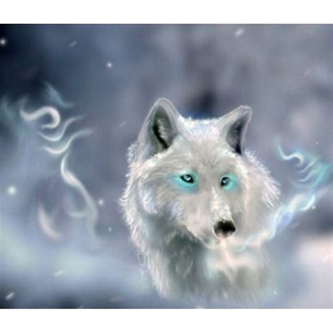Silver Wolf xing7561 silver wolf painting size30x35