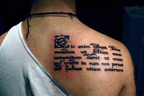Latin Religious Tattoo Quotes | latin tattoo quotes and meanings quotesgram
