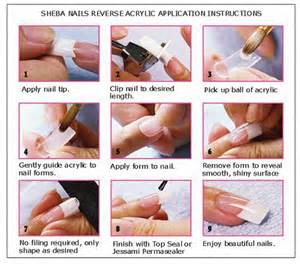 how to do acrylic nails at home step by step 20 photos of acrylic nails to enhance manicure creativity