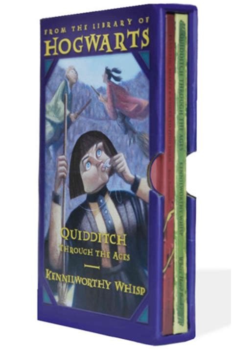 the hogwarts classics box harry potter schoolbooks box set two classic books from the library of hogwarts of