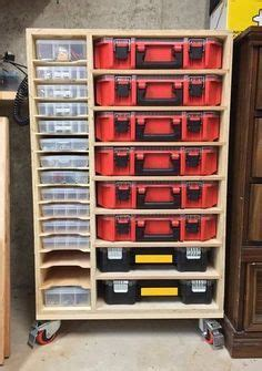 Garage Cabinets By Jake Scrap Wood Rack Really Like This But I Would Struggle To