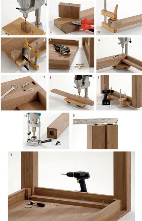 costruire tavolo da tavolo allungabile fai da te con panca bricoportale fai