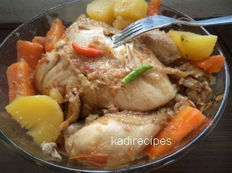 boiled chicken recipe youtube