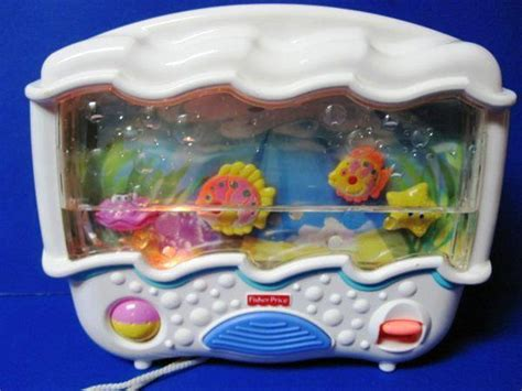 Wonders Musical Aquarium Crib Attachment by Fisher Price Lights And Sounds Aquarium