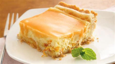 orange cream dessert squares recipe from pillsbury com